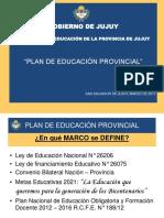 Presentacion Plan Provincial 2013