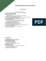 Resumen de Caracteristicas Del Pic 16f887