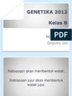 Post Test 06 Ekspresi Gen 2012