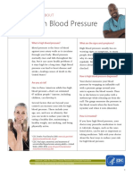 Know the Facts About High Blood Pressure