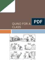 Quino for a Special Class
