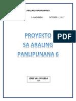 ARALING PANLIPUNAN 9