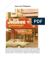 History of Jollibee in the Philippines