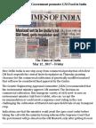 Narendra Modi Government Promotes GM Food in India