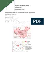 Anatomy of an Earthquake Disaster - Yuhsu, China, April 14, 2010
