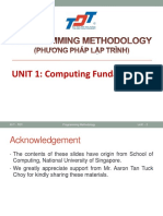 01 Computing Fundamentals