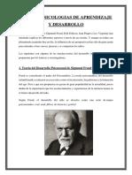 Teorias Psicologias de Aprendizaje y Desarrollo