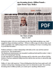 Vijay Mallya - Indians Can Keep Dreaming About a Billion Pounds