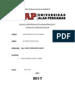 Monografia La Quinta Disciplina