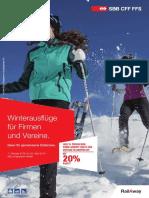 Winterausfluege Fuer Firmen Und Vereine 2015 2016