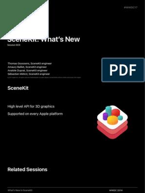 604 Scenekit Whats New | Augmented Reality | Shader