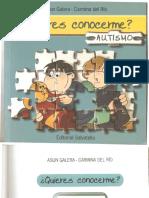 Libro Quieres Conocerme Asperger