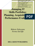 AAA - Idea Group - Managing It Skills Portfolios - Planning, Acquisition and Performance Evaluation - 2005 - (by Laxxuss)