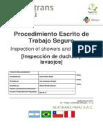 SP 005 032 Inspección Duchas y Lavaojos