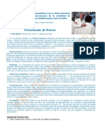 CP Científico denuncia la geoingeniería públicamente