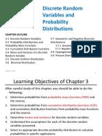 3-(M) Discrete Random Variables & Probability Distributions