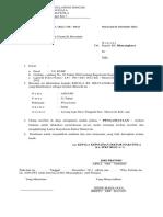 Surat Permintaan Visum Et Revertum