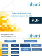 Presentation OnFinancial Transactions