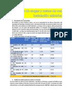 Análisis de Cargas y Costos de Una Instalación Eléctrica SOTERO MARTINEZ JUAREZ