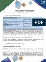 Syllabus Del Curso - Tecnología de Postsacrifcio y Postcaptura