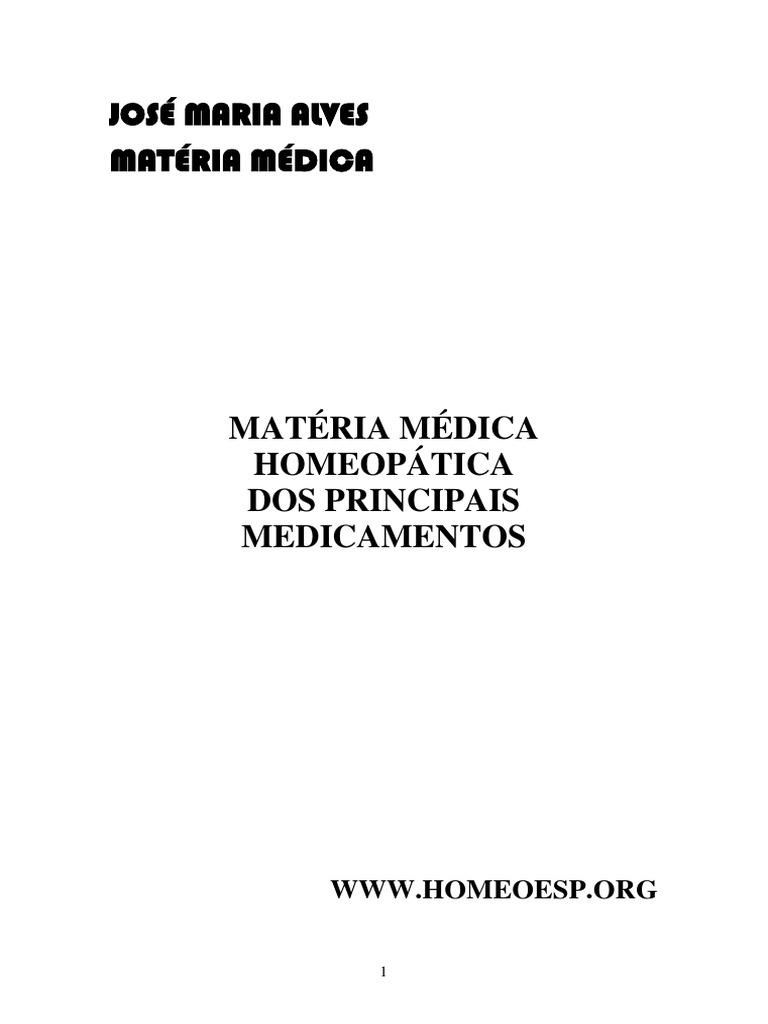 4a7c51589dd0b Materia Medica Dos Principais Medicamentos Homeopaticos