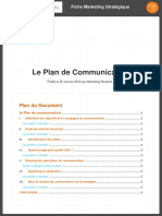 Plan de Commnuication