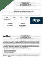 Analisis de Sistema de Informacion Aprobado Gdic Sept 2014