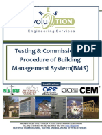Testing and Commissioning Procedure for Building Management System