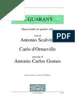 Libreto Il Guarany
