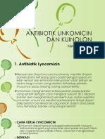 Antibiotik Linkomicin Dan Kuinolon