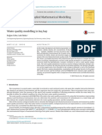 Cebe 2016 artigo Water quality modelling in kas¸ bay