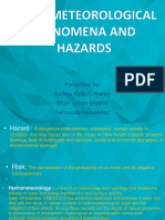 Hydrometeorological Phenomena And