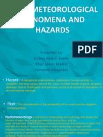 Hydrometeorological Phenomena And