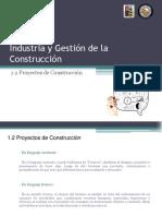 UNIDAD Nº1 - 1.2 Proyectos de Construccion
