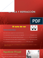 óptica y refracción