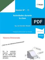 Actividades de sesion N° 11