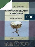 Balázs Zempléni Ritmusgyakorlatok Kezdőknek
