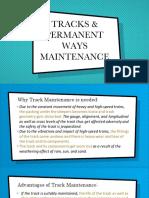 Track Maintenance - PPT