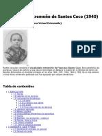 Vocabulario Extremeño de Santos Coco (1940)