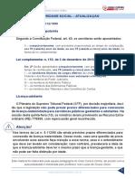 Resumo 195075 Ivan Lucas de Souza Junior 36562410 Lei 8 112 90 Aula 17 1 Seguridade Social Atualizacao