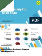 Prinsip - Prinsip Etika Bisnis