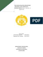 Laporan Umum_Adinda Sofura A_Pangiastika Putri W_Produksi I_Amoniak_Teknik Kimia UI_1 Juli-31 Agustus 2016