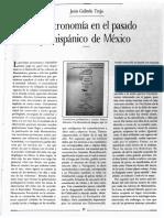 Astronomía del pasado prehispánico de México