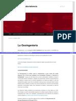 Blog Resistenciafrentealaviolencia.wordpress.com - La Geoingenieria