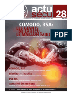 XMCO ActuSecu 28 RSA Comodo