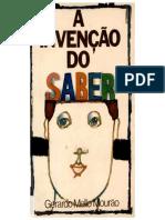 Gerardo Mello Mourão - A Invenção do Saber