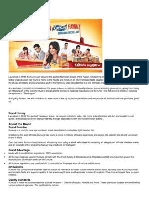 Kurkure docx | Brand | Advertising