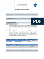 Bioestadística - Programa Académico