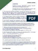 Ejercicios de Estequiometria FIIS UNI
