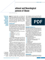 Emotional and Neurological Cosequences of Abu